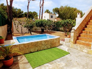 Casa Can Cerlins. Ficus Garden w/ pool + WiFi