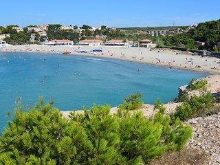 A Carro Rose des sables T2 clim wifi a 5 min de la plage