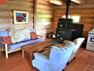 Wild Rose Cabin ~ Glamping in the Larch Hills, 25 minutes from Salmon Arm