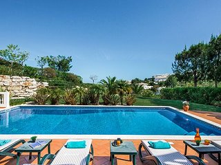 Fabulous luxury villa with private pool,  located at Santo Antonio Golfe Resort