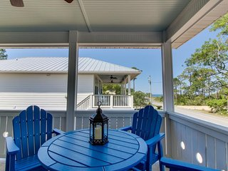Dog-friendly home w/ private hot tub, partial water view, easy beach access