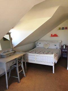 Bedroom 2 - double room with fabulous views across wadebridge