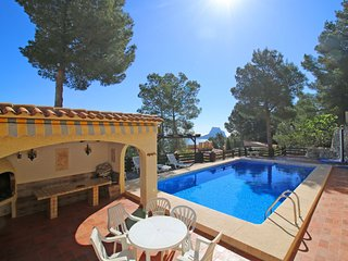4 bedroom Villa in Calpe, Valencia, Spain : ref 5487681