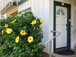 Air Conditioned 2 bdrm, 2 bath vacation rental in sunny Poipu Kai