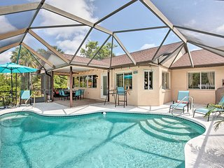 NEW! Canalfront Palm Coast House w/Dock & Pool!