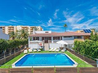 CALIPSO:) Casa 8 personas en Puerto de Alcudia. AC, WiFi gratis