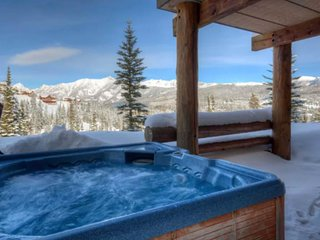 Ski-in/ski-out townhome with a private hot tub and shared pool, more!