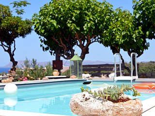 Walking distance to beach,taverna,grocery★ Top Seaview★ Private Pool