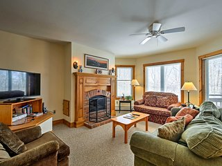 NEW! Ski-in/Ski-out Jay Peak Resort Luxury Condo