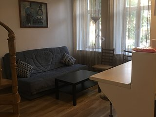 two-level apartment in the center of the diplomatic zone