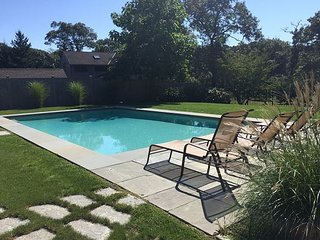 Beautifully Renovated Edgartown Home with Pool in Quiet Location Close to Tow