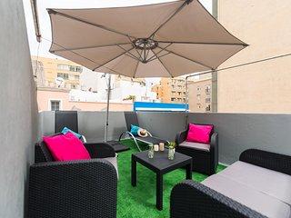 Agradable y cómodo apartamento a 50m de la playa! (planta 2)