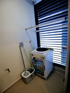 Washer and drying equipment