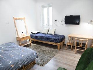 62HB03 Private Safe&Comfy Bedroom ★ Old Quarter