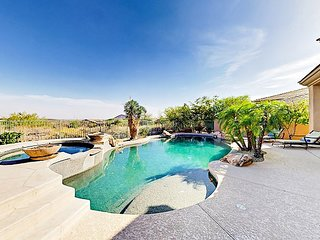 Palatial 3BR+ Oasis w/ Heated Pool, Outdoor Living & Golf Course Views