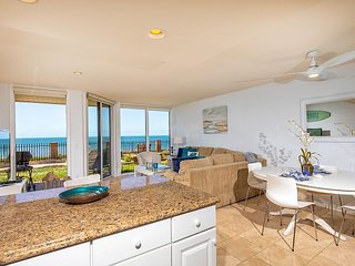 Bright, Beachy & Beautiful 1 bdrm oceanfront