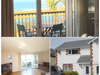 AMAZING SEA VIEWS Central location 5 MINS town - 49 'curved TV, WIFI sleeps5