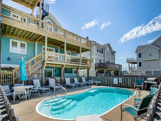 Double Dip Beach House | 615 ft from the Beach | Private Pool, Hot Tub | Nags He