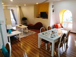 Apartment 1 bedroom -  60sqm - AC - Lift - 24h