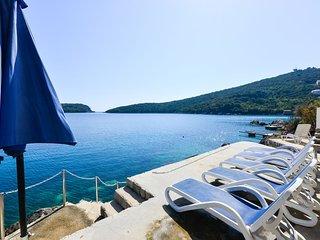 Beach villa near Dubrovnik with private  beach