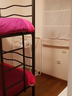 2º dormitorio con cama litera
