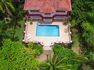 Welcome to the most exquisite beach side Villa in all of Northern Panama!