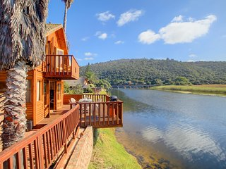 Self Catering Log Cabin on the Garden Route Wilderness Western Cape Touwsriver