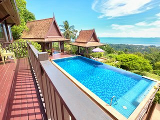 Villa Thai Teak - 2 Bed, Sleeps 4 Amazing Sunsets