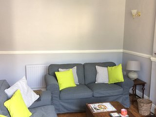 Relax- in our comfortable sofas(there is even a rocking chair!)