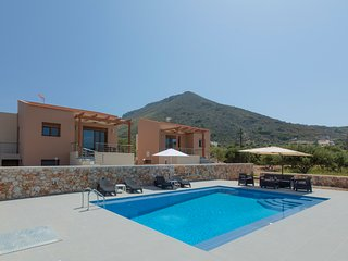 ELECTRA VILLAS a Family House with Pool for 4 KOKKINO CHORIO Crete