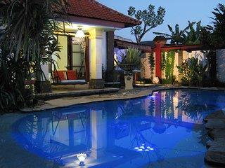 Villa Shantitara Ariel bungalow