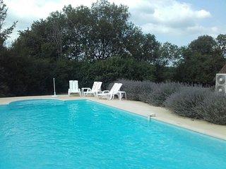 Les orchidees sauvages, maison de vacances avec piscine