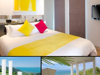 Spacious private villa - apartment: pool / garden / sea view within 5* Resort