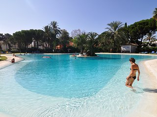 Our huge Main swimming pool is just about to reopen after its refurbishment to comply with E.U. regs