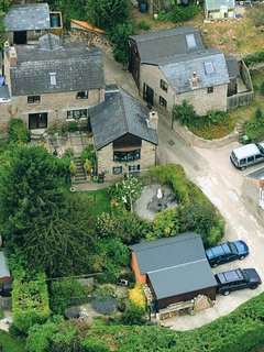 Ariel View of Kerne Cottage