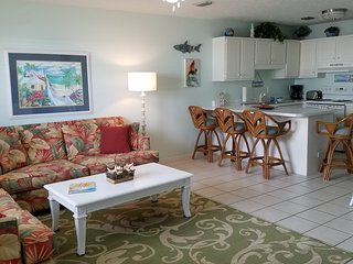 great condo  great pool near pier park just steps to the beach