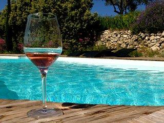 Villa avec jardin clos au cœur des vignes du Clos de Caveau