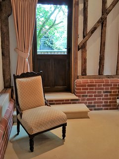 The Stable is full of period features such as beautiful high ceilings and 17th century wooden beams