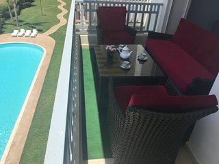 appartement meuble avec piscine pour vacances