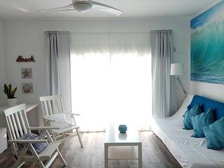 Apartamento en la playa Los Alamos