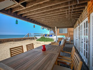 The Panoramic Ocean View Malibu Escape with Private Sandy Beach!