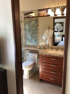 Guest bedroom ensuite bath,