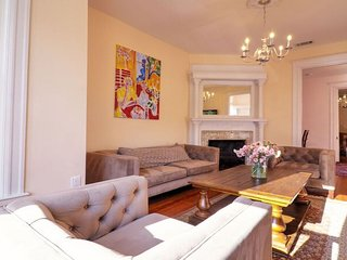 ECLECTIC MODERN LARGE DUPONT CIRCLE BROWNSTONE