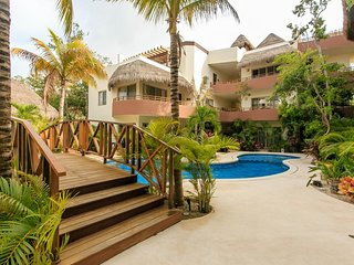 Comfortable condo with Jacuzzi  in Tulum by Happy Address