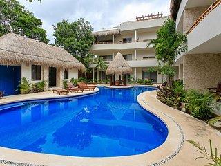 Villa Puerta Zama 2 BR with big terrace in Tulum by Happy Address