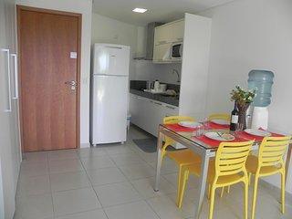 Flat 1 Quarto - Carneiros Beach Resort (C18-5)