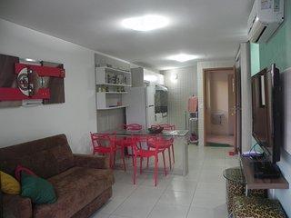 Flat 1 Quarto - Carneiros Beach Resort (B19-5)