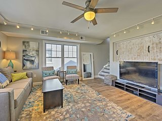 NEW! Luxury Bradley Beach Condo near Ocean Grove!