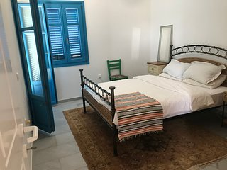 Paros Book'inn with grand views of Piso Livadi and the sea