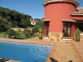 Villa Campillos con Torreón, Piscina y Jardines